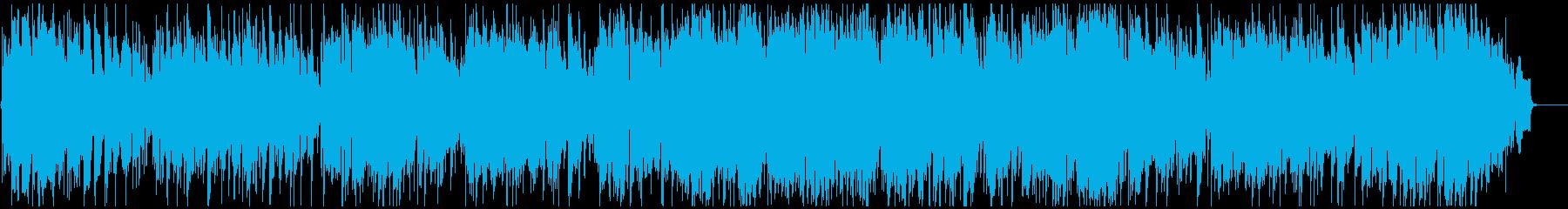 軽快なジャズワルツ ソプラノサックス生録の再生済みの波形
