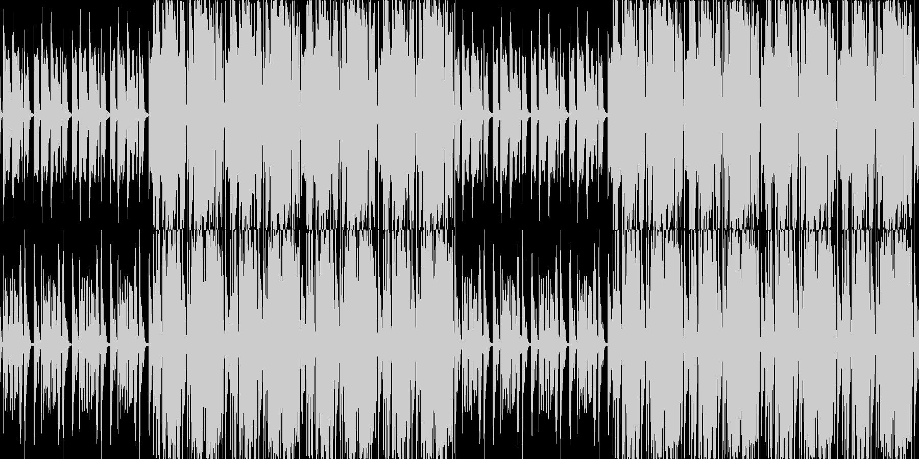 【レゲエ/ロック/ピアノ/ミドルテンポ】の未再生の波形