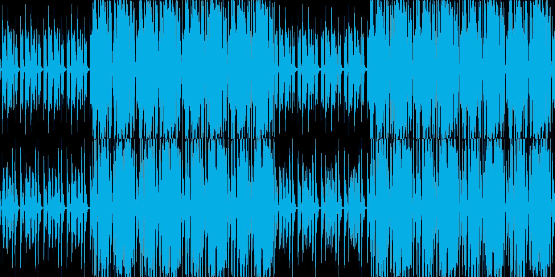 【レゲエ/ロック/ピアノ/ミドルテンポ】の再生済みの波形