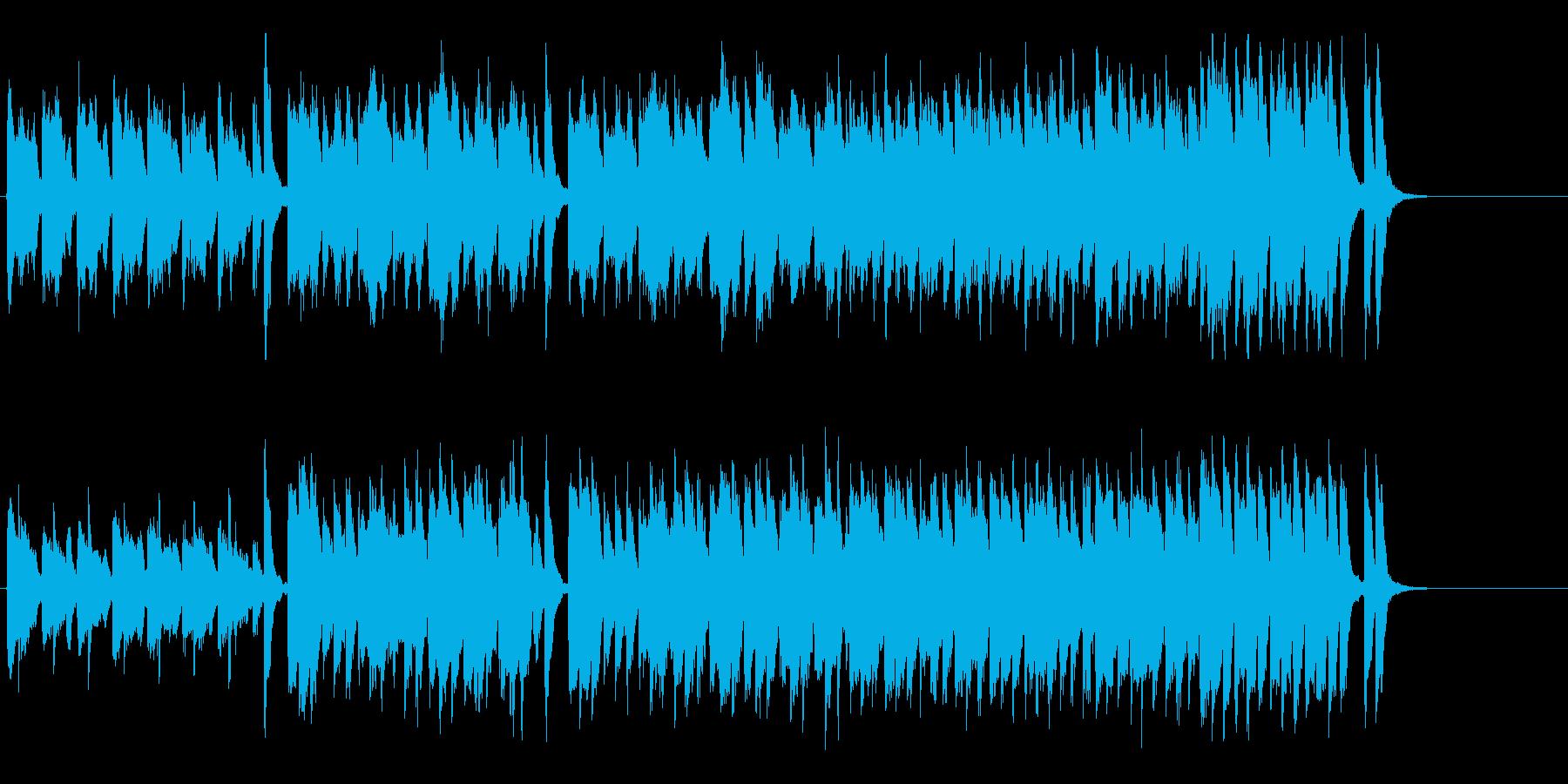 メルヘンチックでかわいらしいポップの再生済みの波形