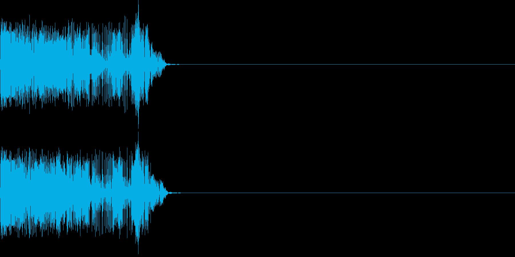 ビュルル(click_053_ボタン)の再生済みの波形