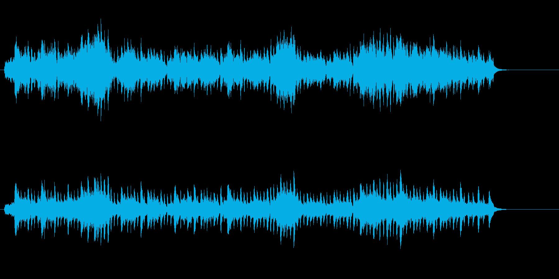 奇妙な音色と流麗なフレーズのクラシックの再生済みの波形