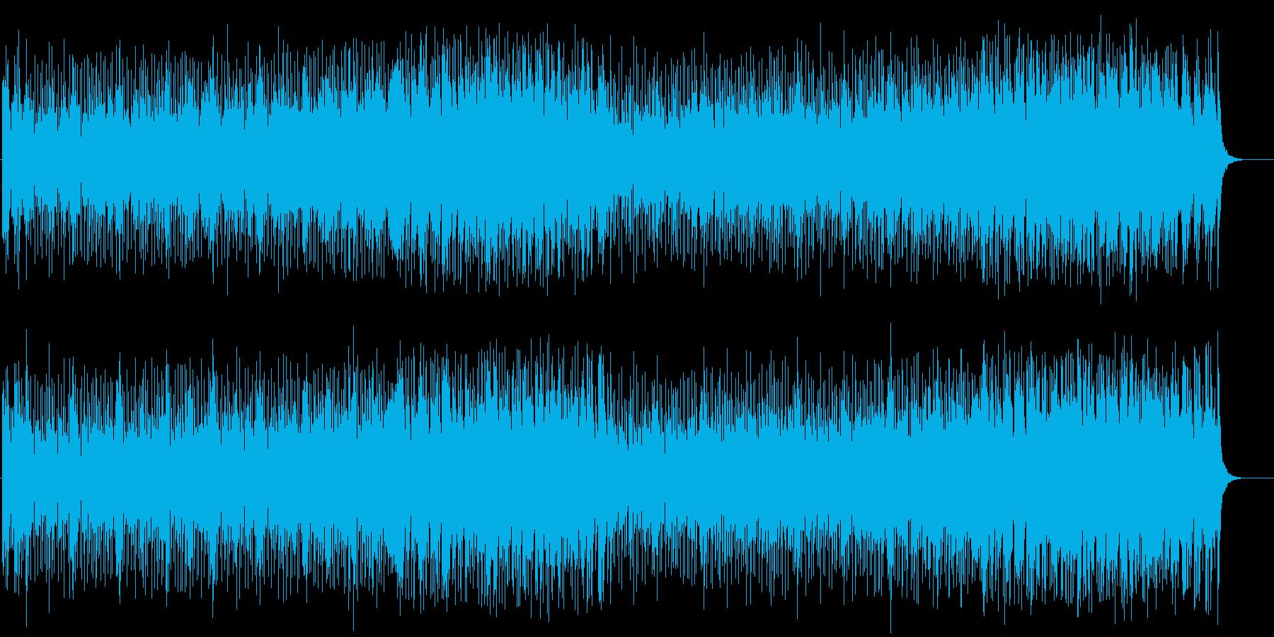 お洒落でヴィヴィッドなポップフュージョンの再生済みの波形