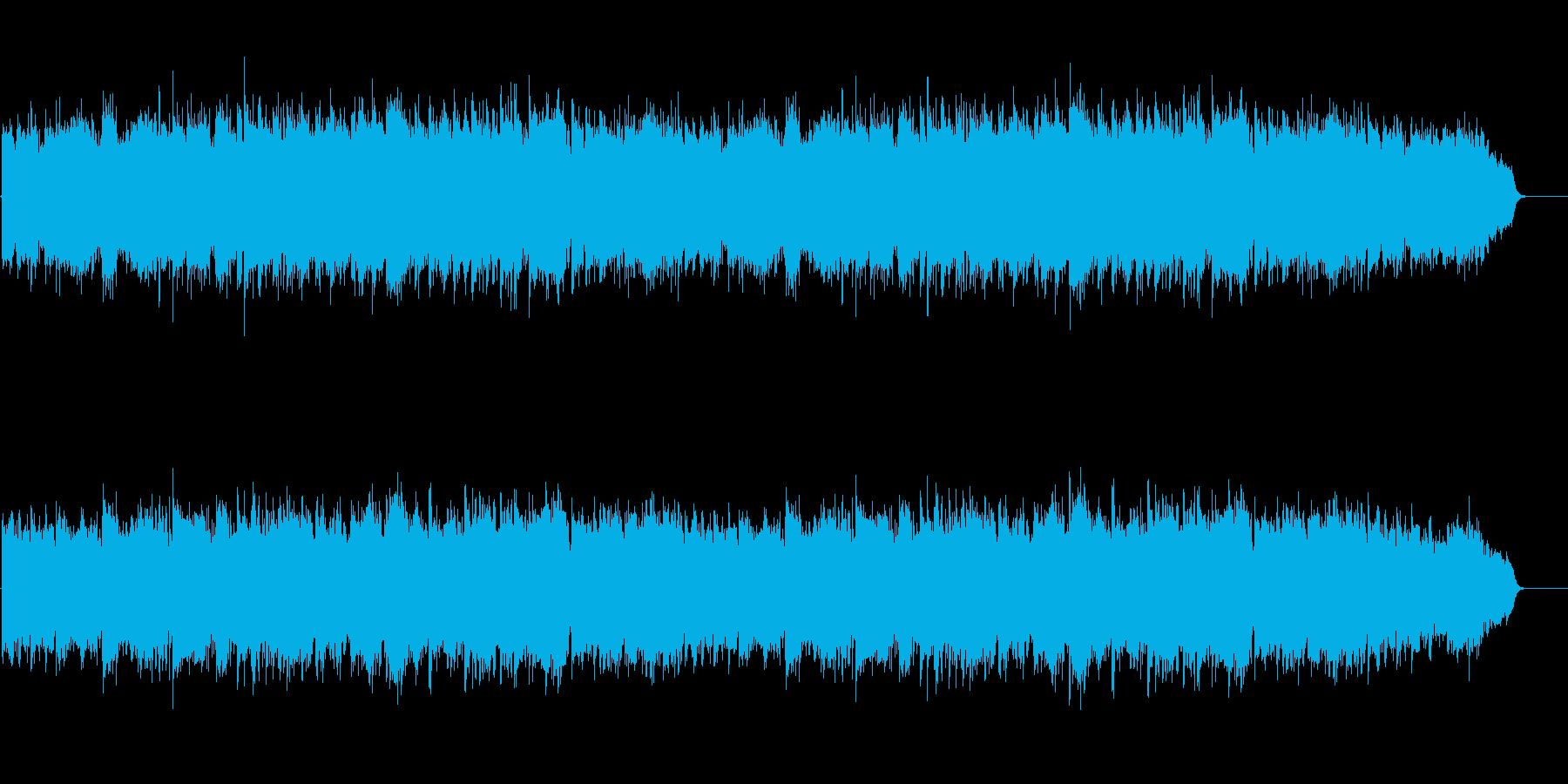 尺八と琴による日本の自然をイメージした曲の再生済みの波形