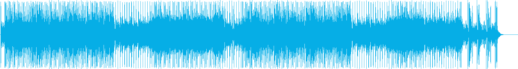 オリエンタルなデジタルポップの再生済みの波形