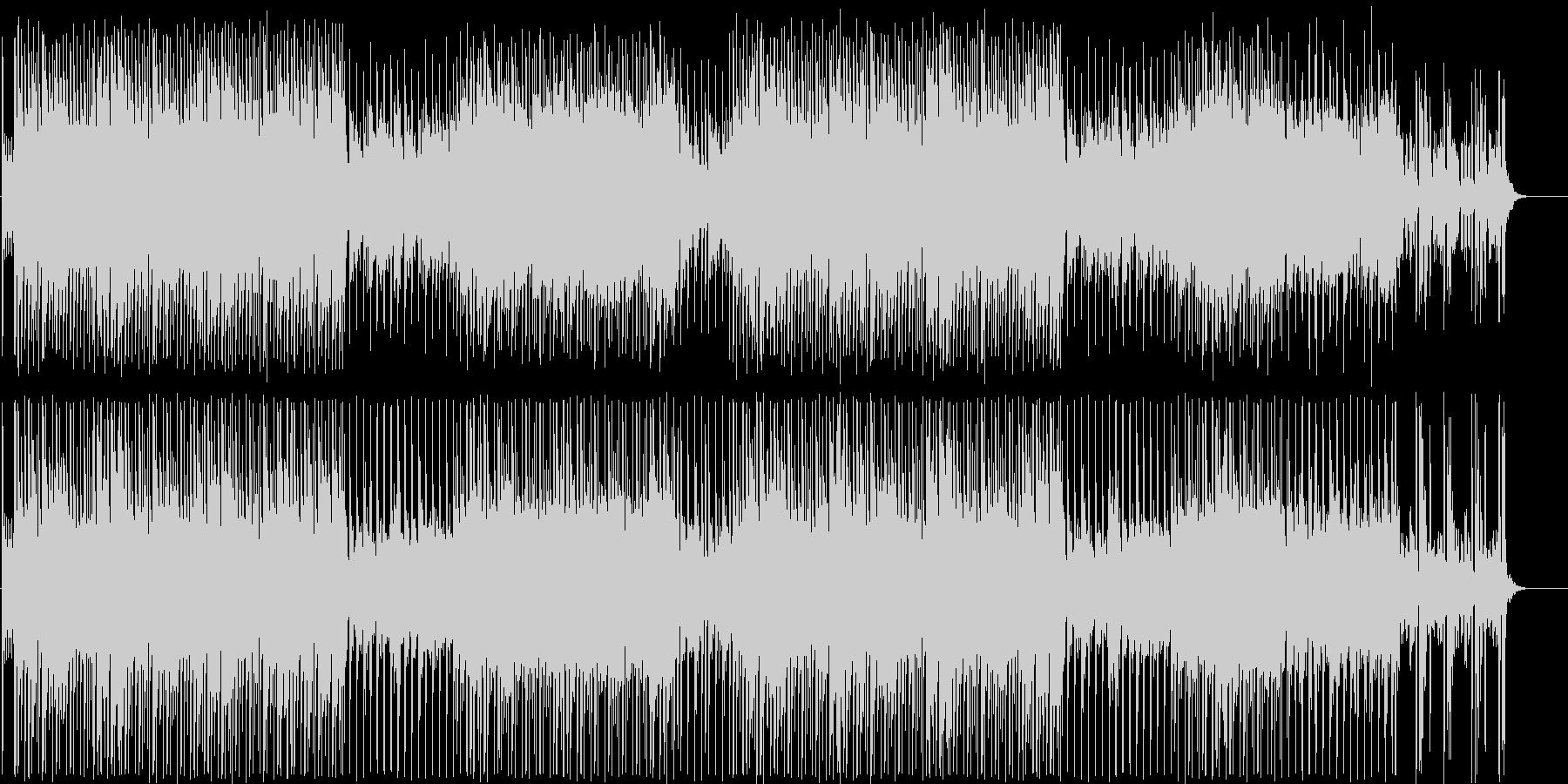 オリエンタルなデジタルポップの未再生の波形