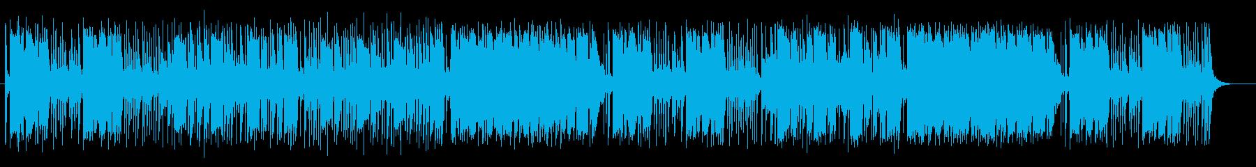ミステリアスで軽快なポップサウンドの再生済みの波形
