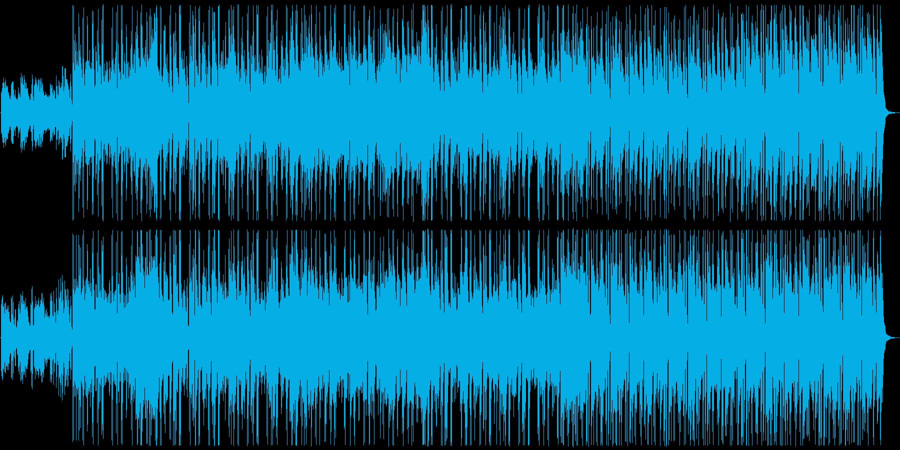 フルートとピアノの透明感爽やかポップの再生済みの波形