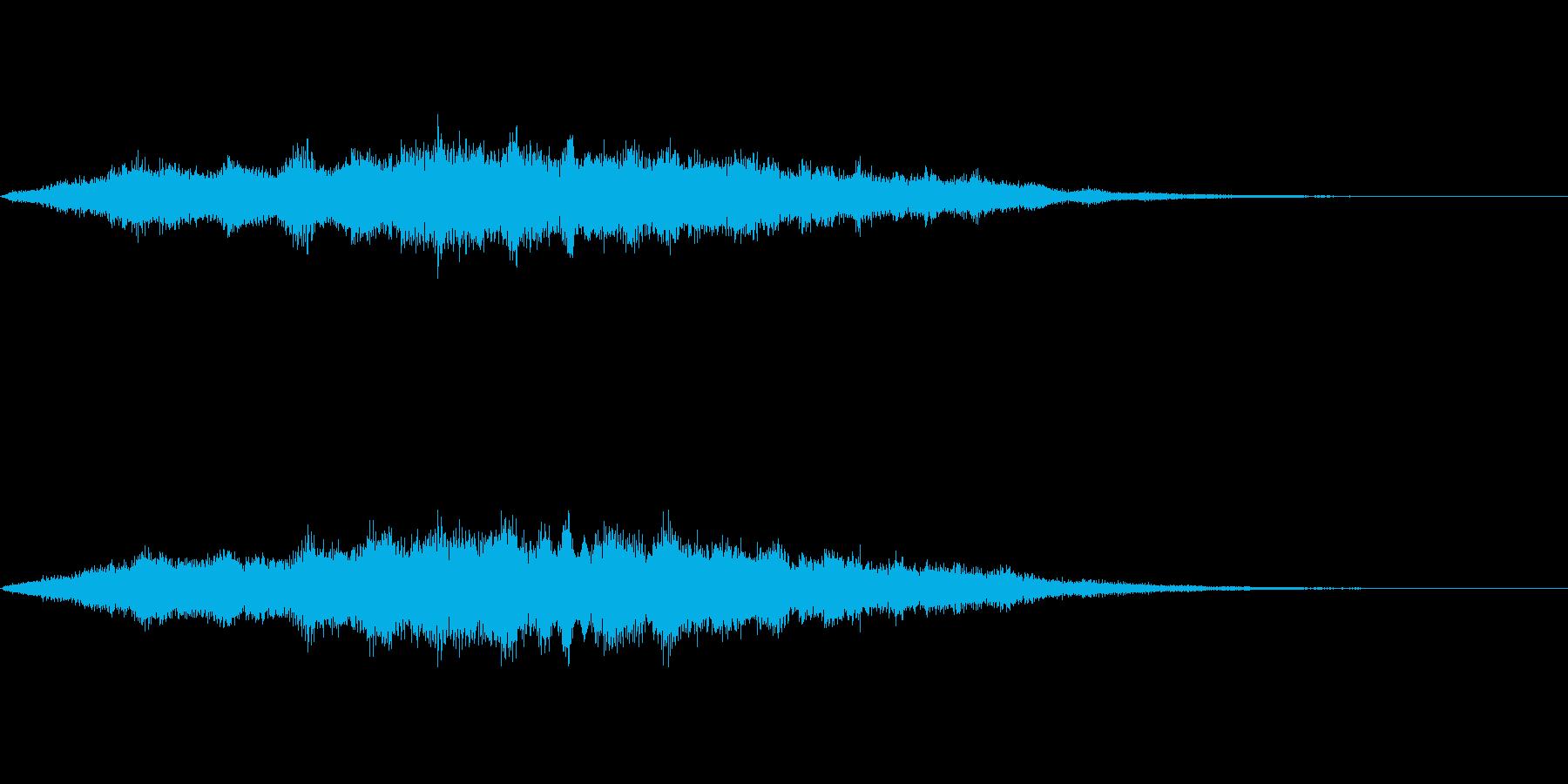 スペイシーな空間音 Bメジャーの再生済みの波形