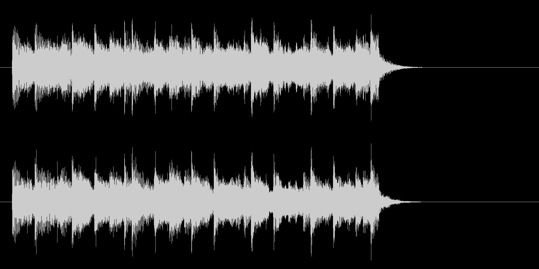 安らぎのミディアムポップ(イントロ)の未再生の波形