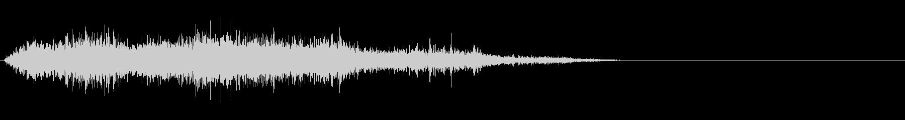 モンスター/獣/ゾンビ等の鳴き声!02Cの未再生の波形