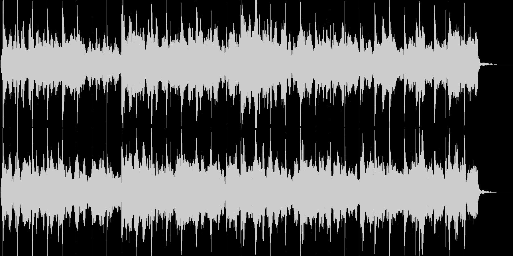 ローズピアノとシンセによるスムースジャズの未再生の波形