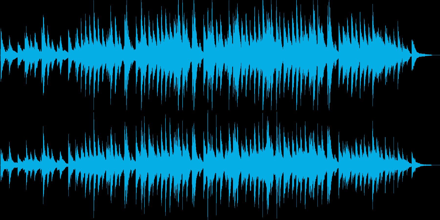 ピアノソロ・感動・達成・映像・イベント用の再生済みの波形