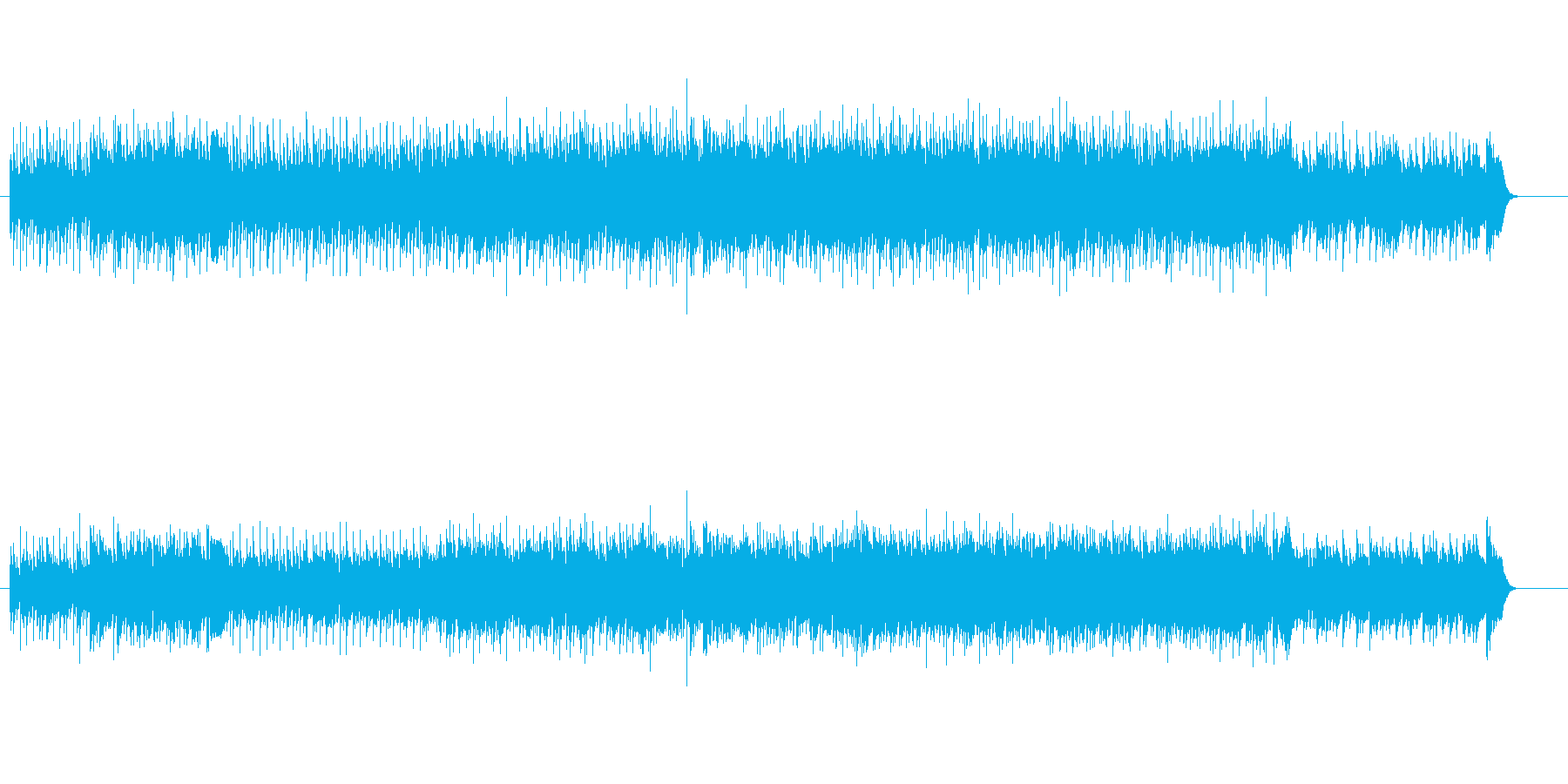8ビート・マイナー・ニューミュージックの再生済みの波形