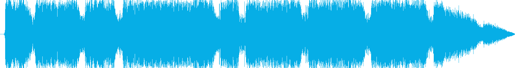 雷魔法(ほとばしる電撃)の再生済みの波形