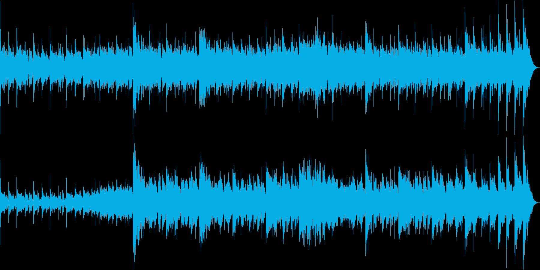 ホラー系風習的な儀式の再生済みの波形