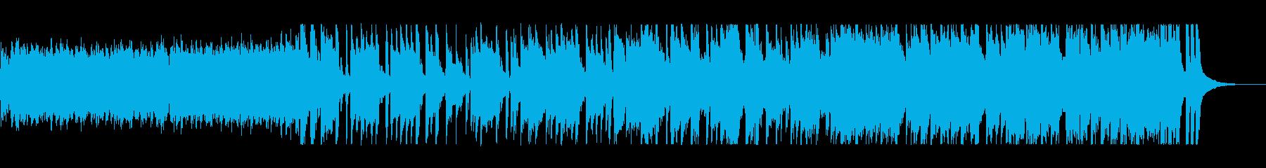 優しく穏やかなクリスマスBGMの再生済みの波形
