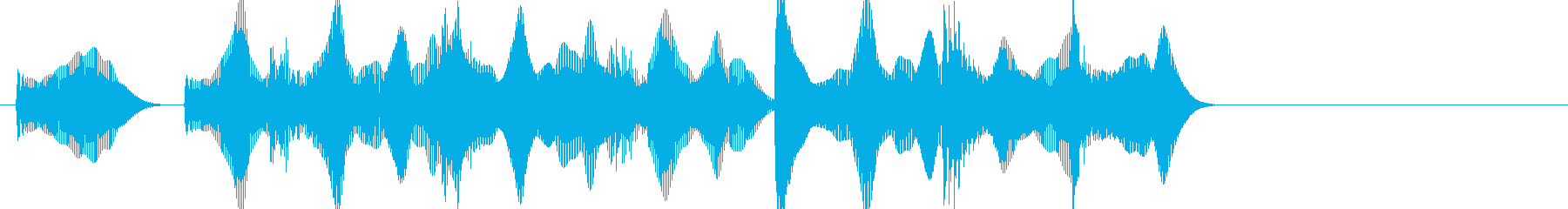 負けた時の残念な音03の再生済みの波形