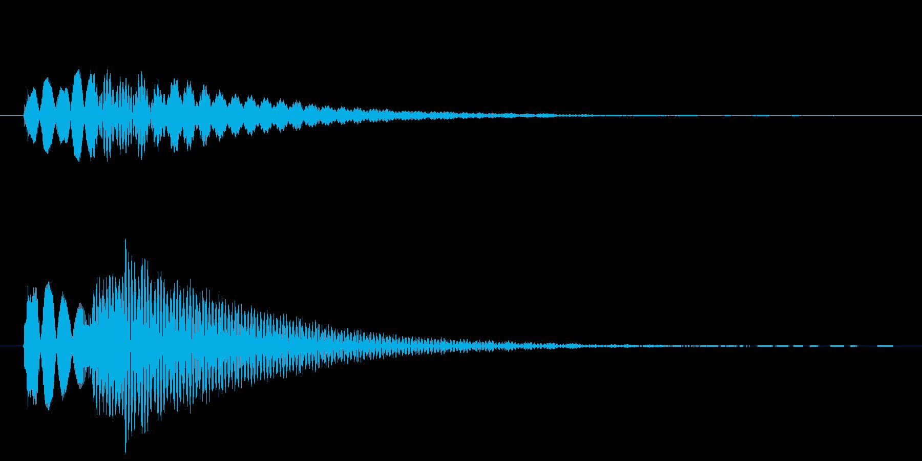 魔法 ハズレ!の再生済みの波形