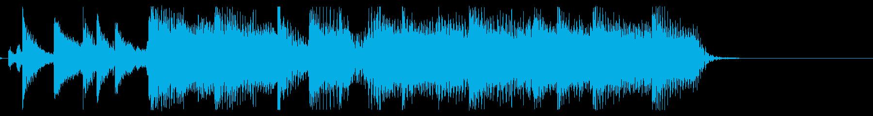 【気分一新4】の再生済みの波形