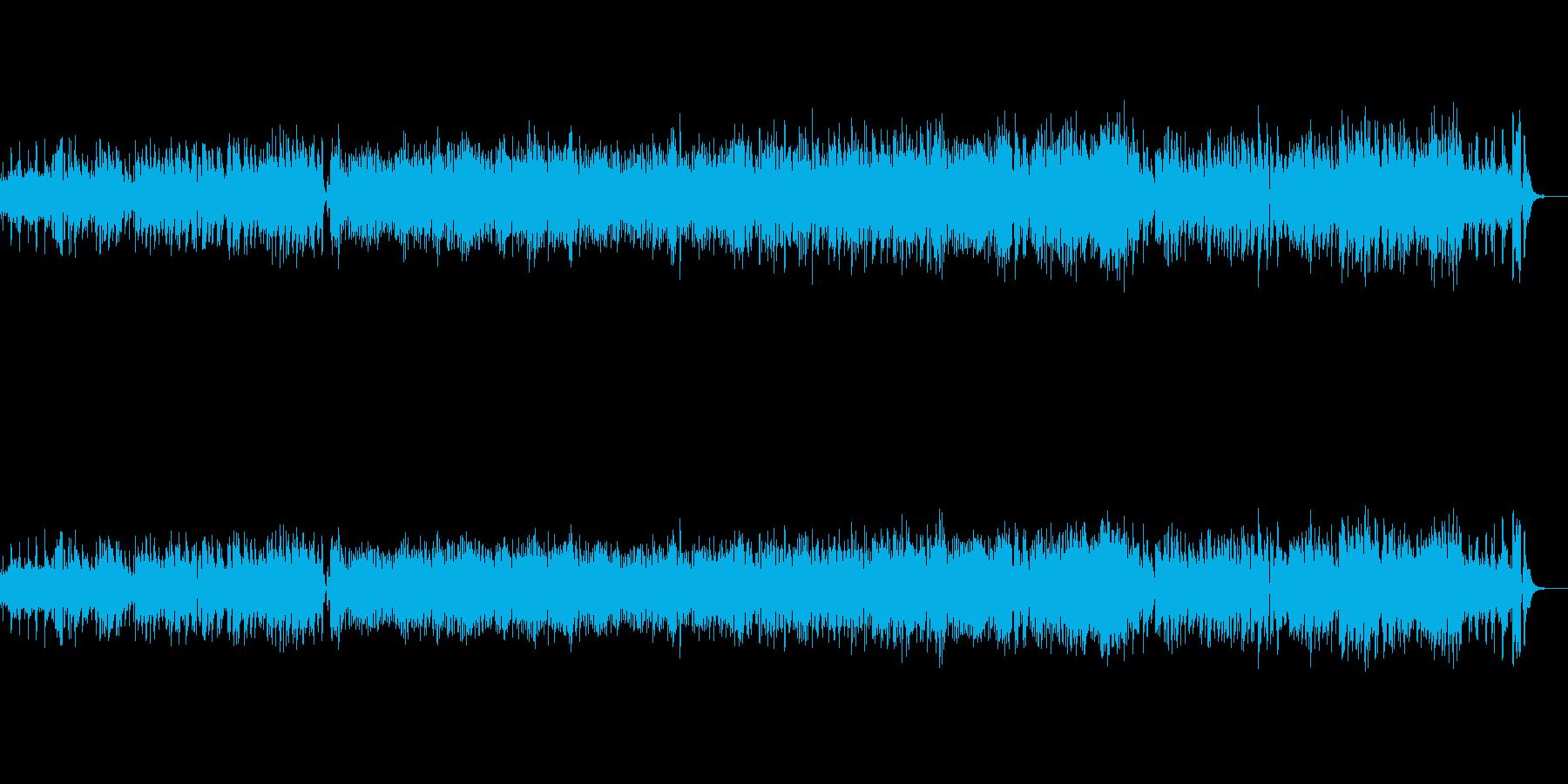 ビブラフォンが特徴的な、軽快なジャズの再生済みの波形