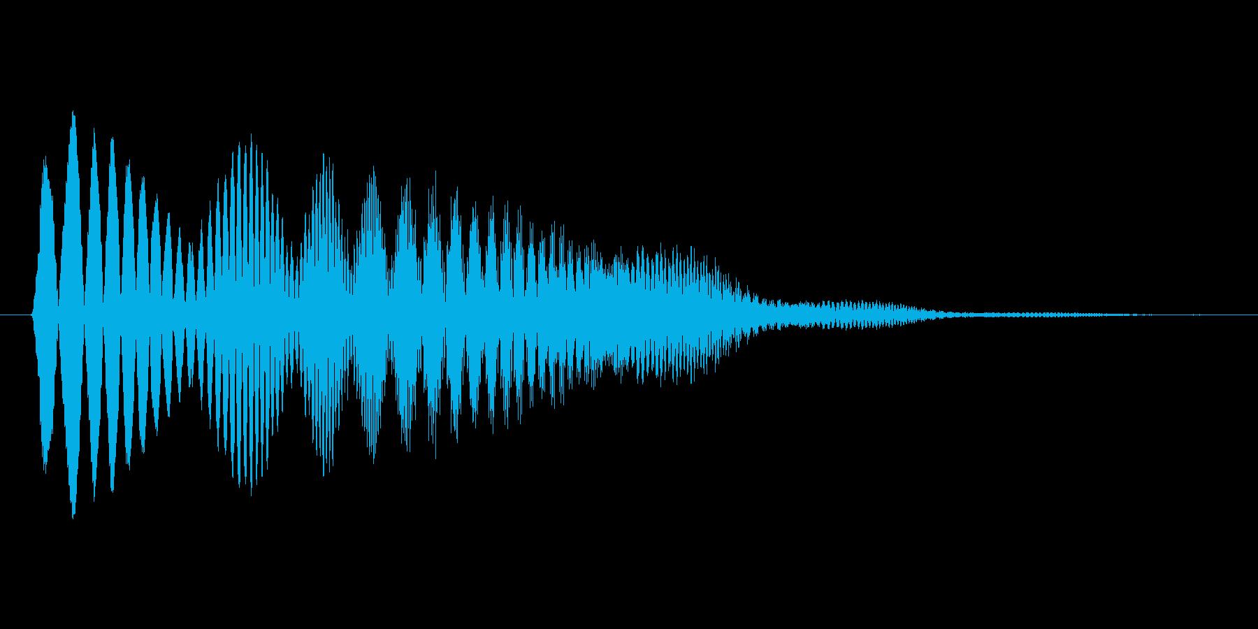 ファミコン風効果音 ポップアップ・上昇 の再生済みの波形