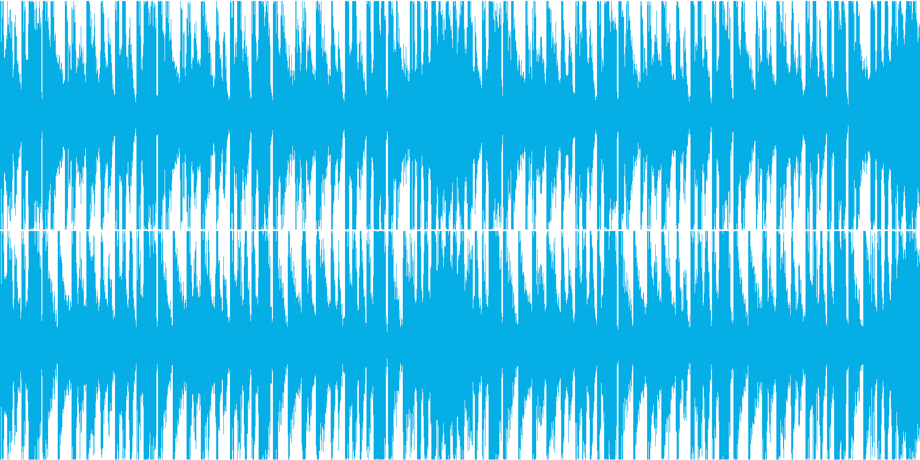 メニュー、キャラ選択等(ループ・20秒)の再生済みの波形