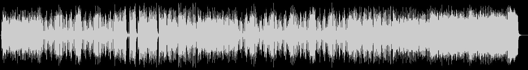 軽快なリズムによるメロディが特徴のポップの未再生の波形