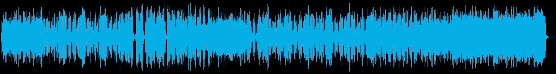 軽快なリズムによるメロディが特徴のポップの再生済みの波形