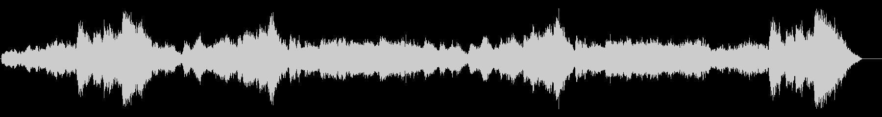 ドキュメンタリー系 断崖氷壁風サウンドの未再生の波形