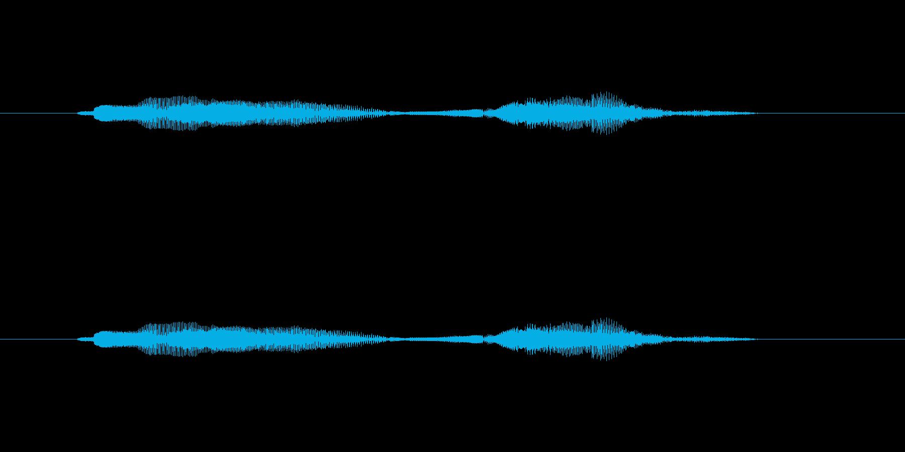 ニャー_猫声-31の再生済みの波形
