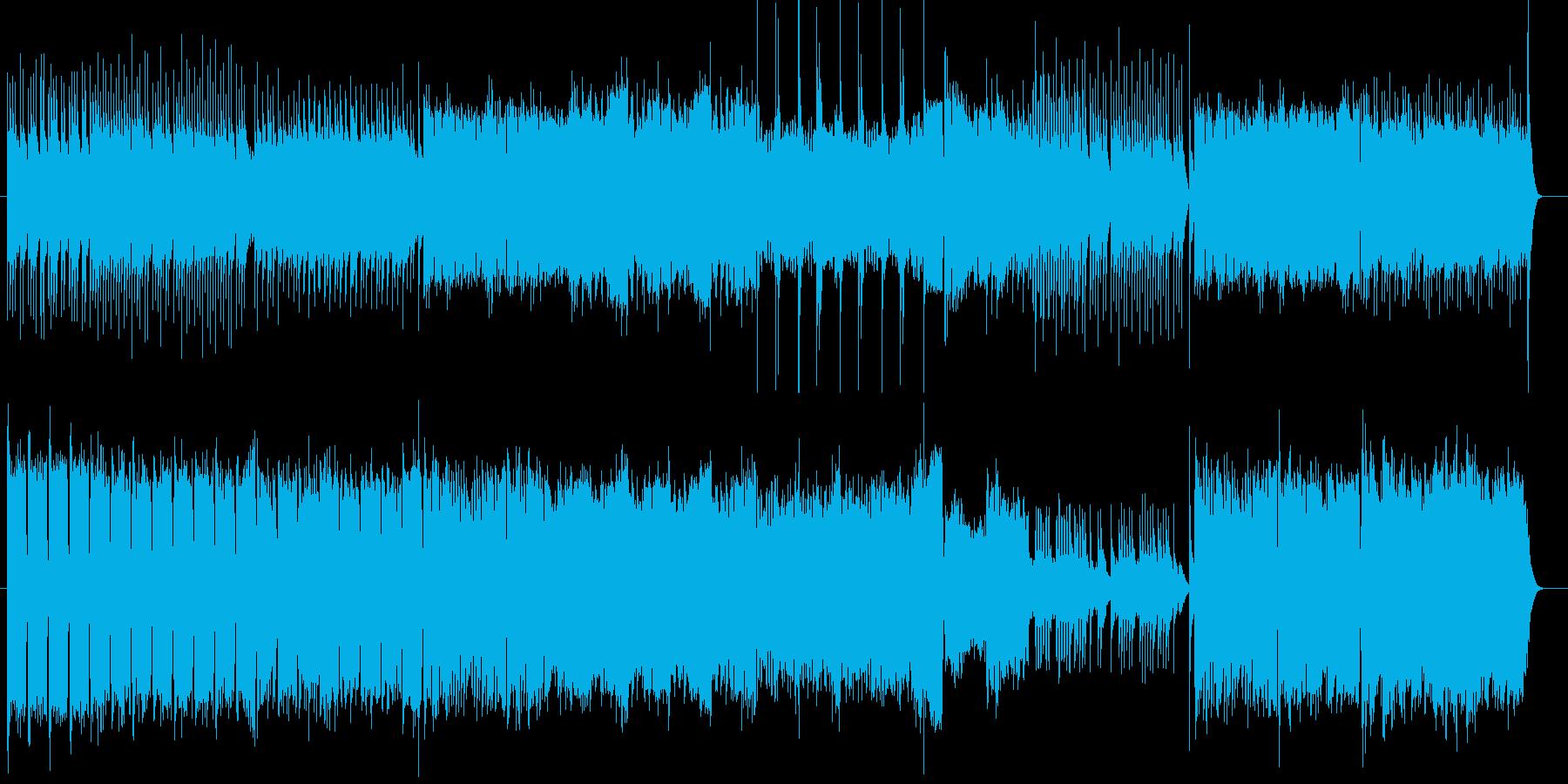 優しいハープとストリングスのバラードの再生済みの波形