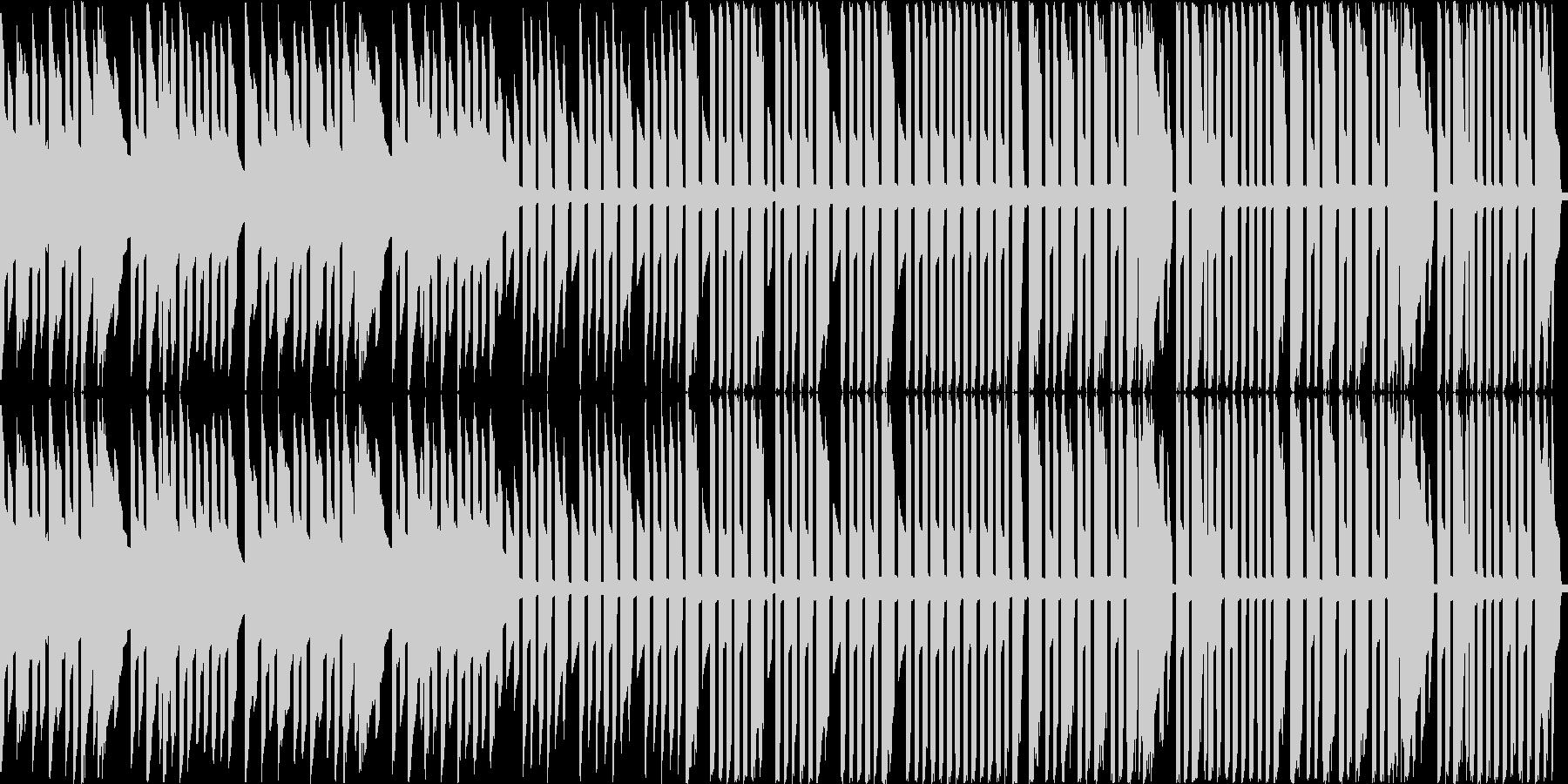 ジングルベル(ピコピコ3音アレンジ)の未再生の波形