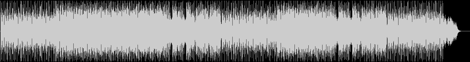 軽快で明るいメロディーのBGMの未再生の波形