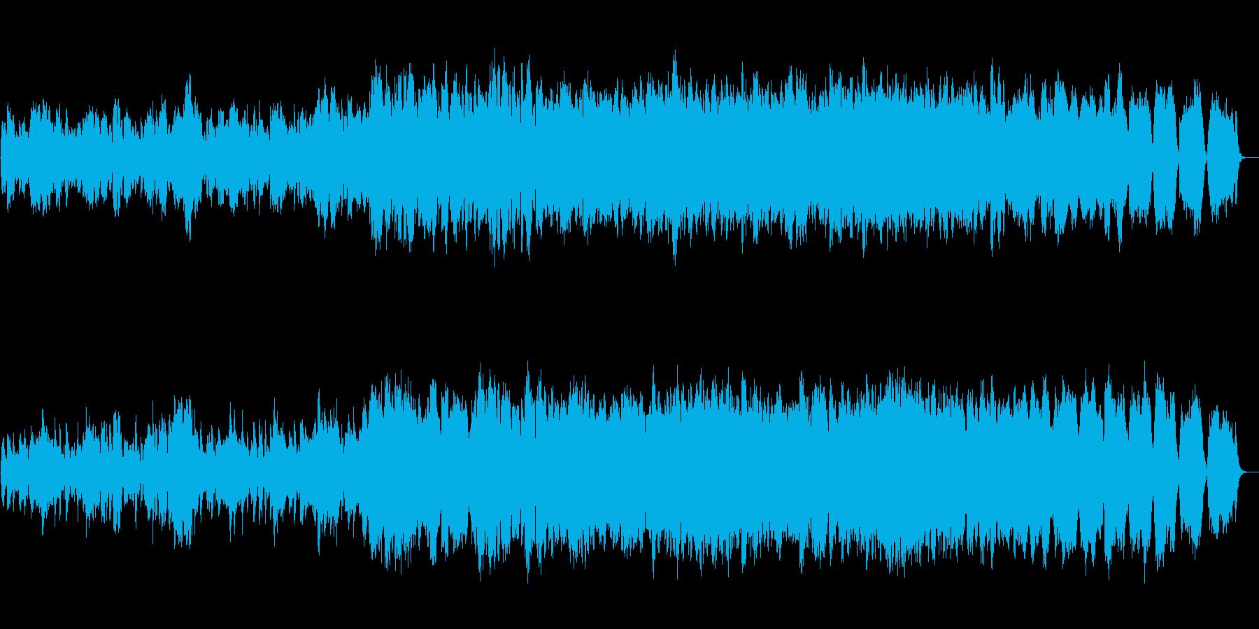 心にしみ入るロマンチックな弦楽四重奏の再生済みの波形