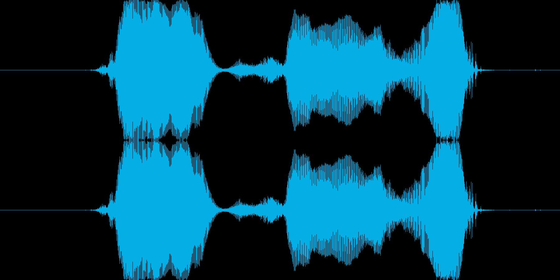 セーブし~よぉっ!の再生済みの波形