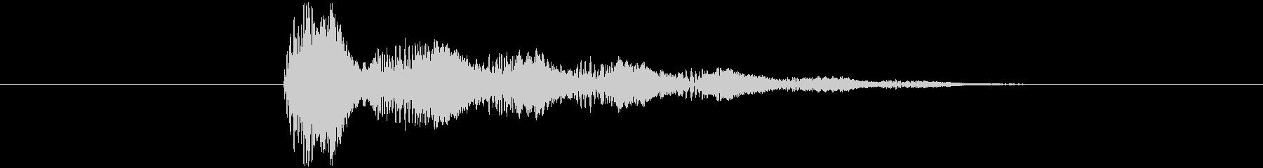 消滅音(スライム・ゼリー)の未再生の波形