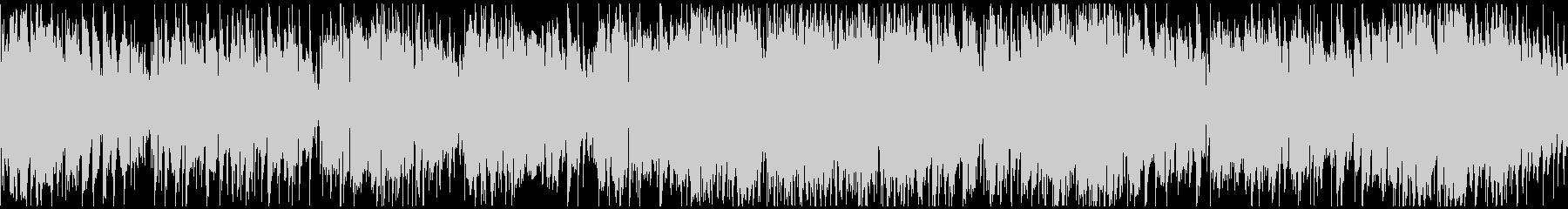 軽快なジャズワルツ ※ループ仕様版の未再生の波形