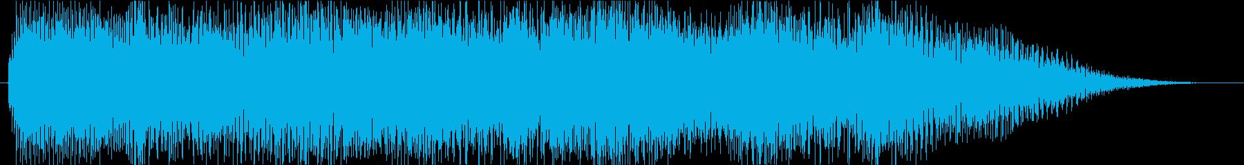イベントクリア!の再生済みの波形