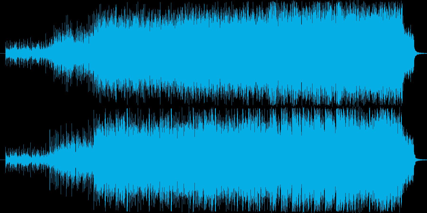 ベルの音色を使用した悲しいサウンドシリ…の再生済みの波形