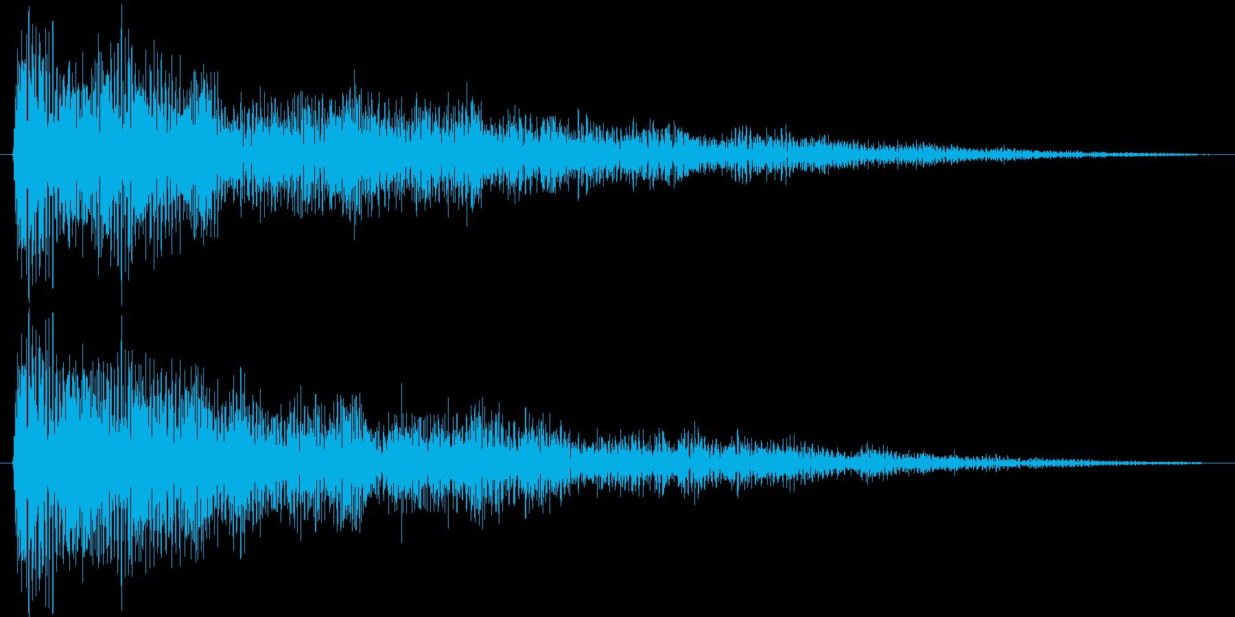 魔の時計塔の再生済みの波形