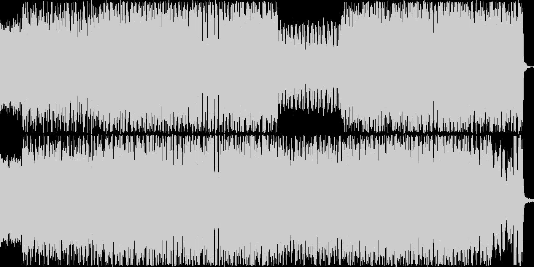 リフが主体の疾走間のある曲です。バトル…の未再生の波形