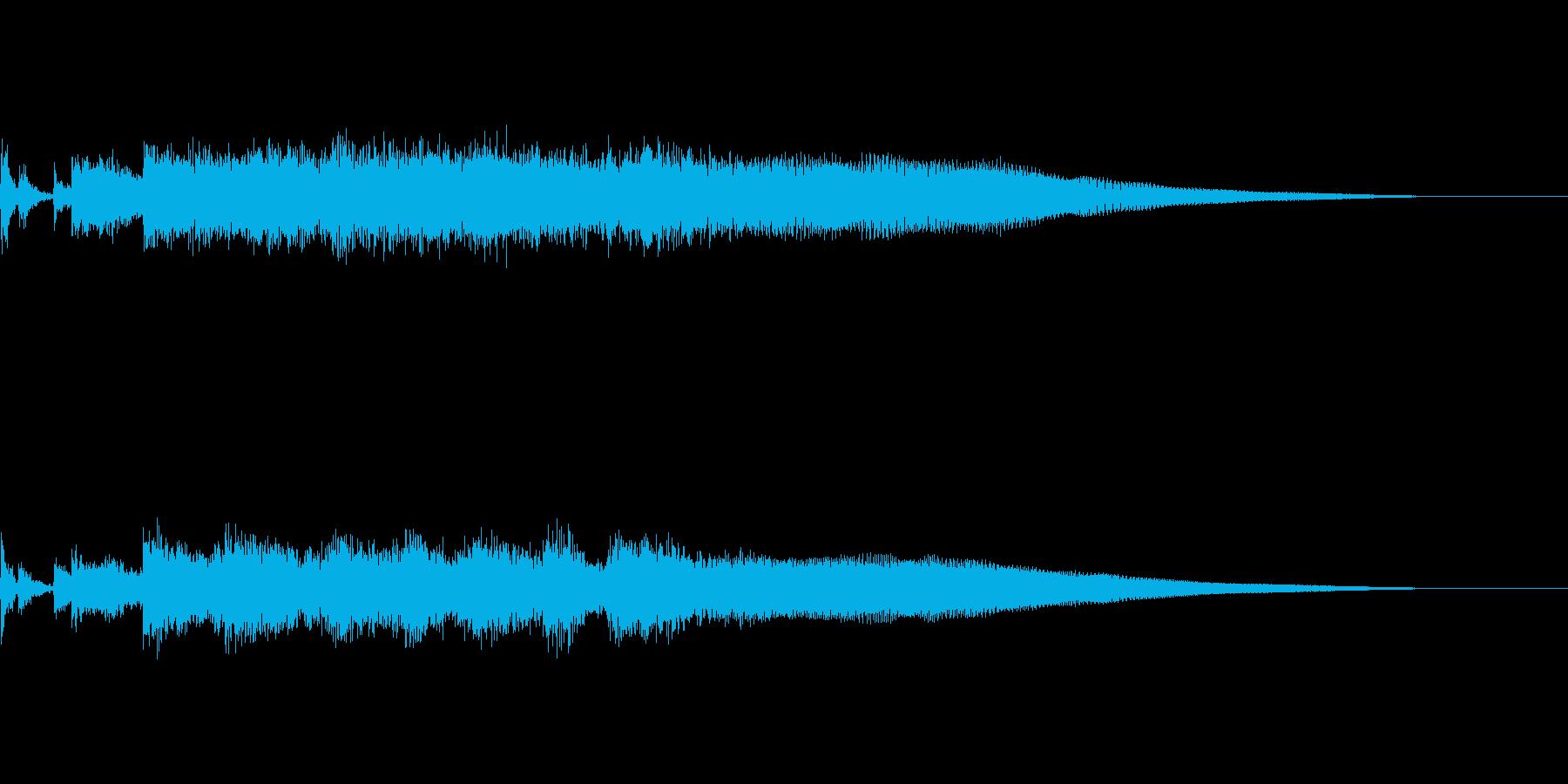 ロックな音です。の再生済みの波形