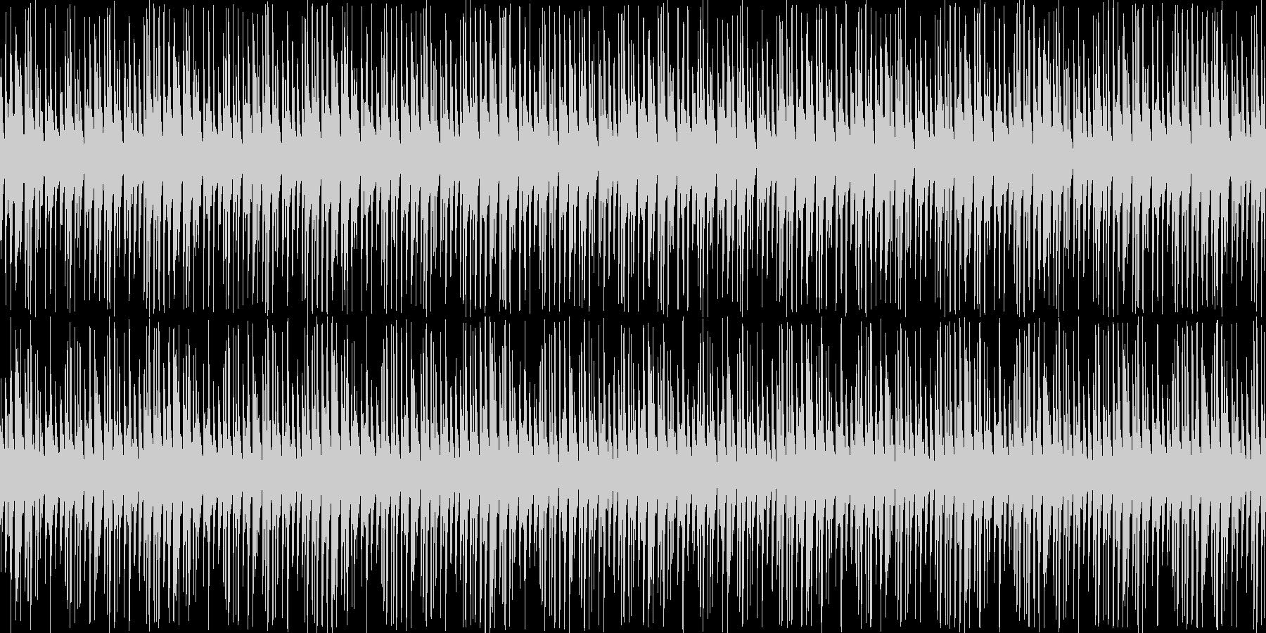 【ポップで可愛いクラブサウンド】の未再生の波形