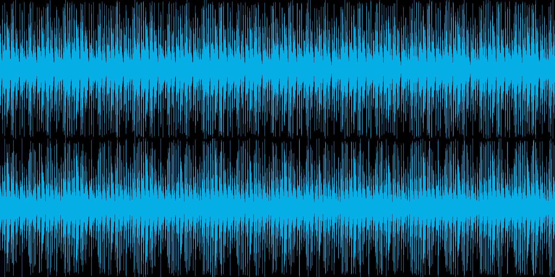 【ポップで可愛いクラブサウンド】の再生済みの波形