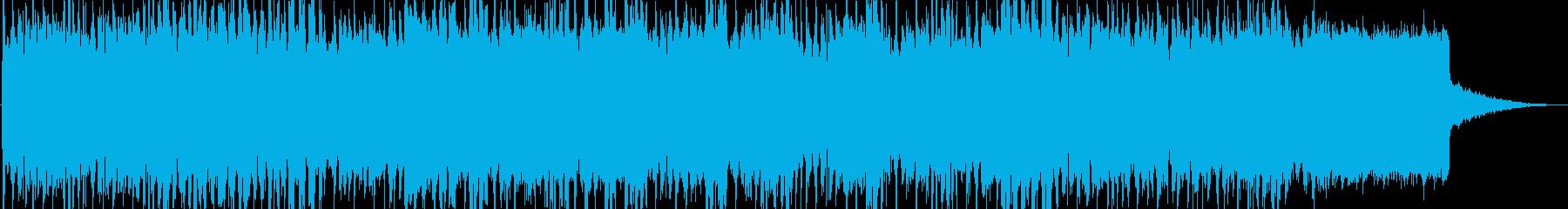 浮遊感の漂うシンセ楽曲 ゲームやOPに。の再生済みの波形