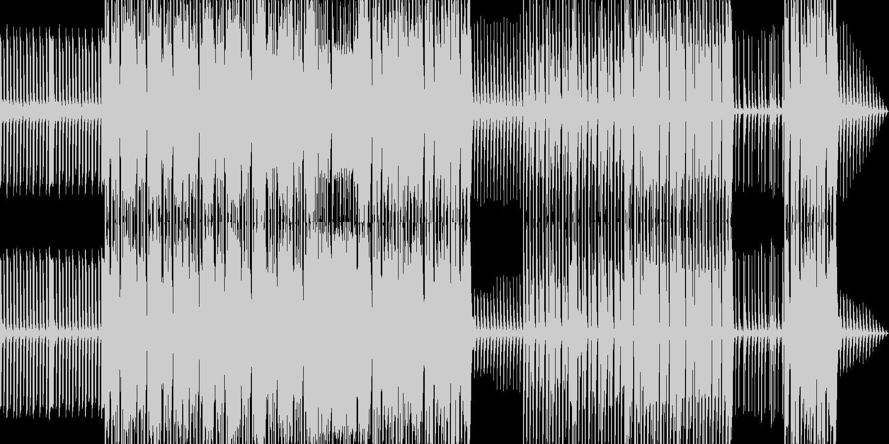 コミカルで陽気なファミリー向けポップスの未再生の波形