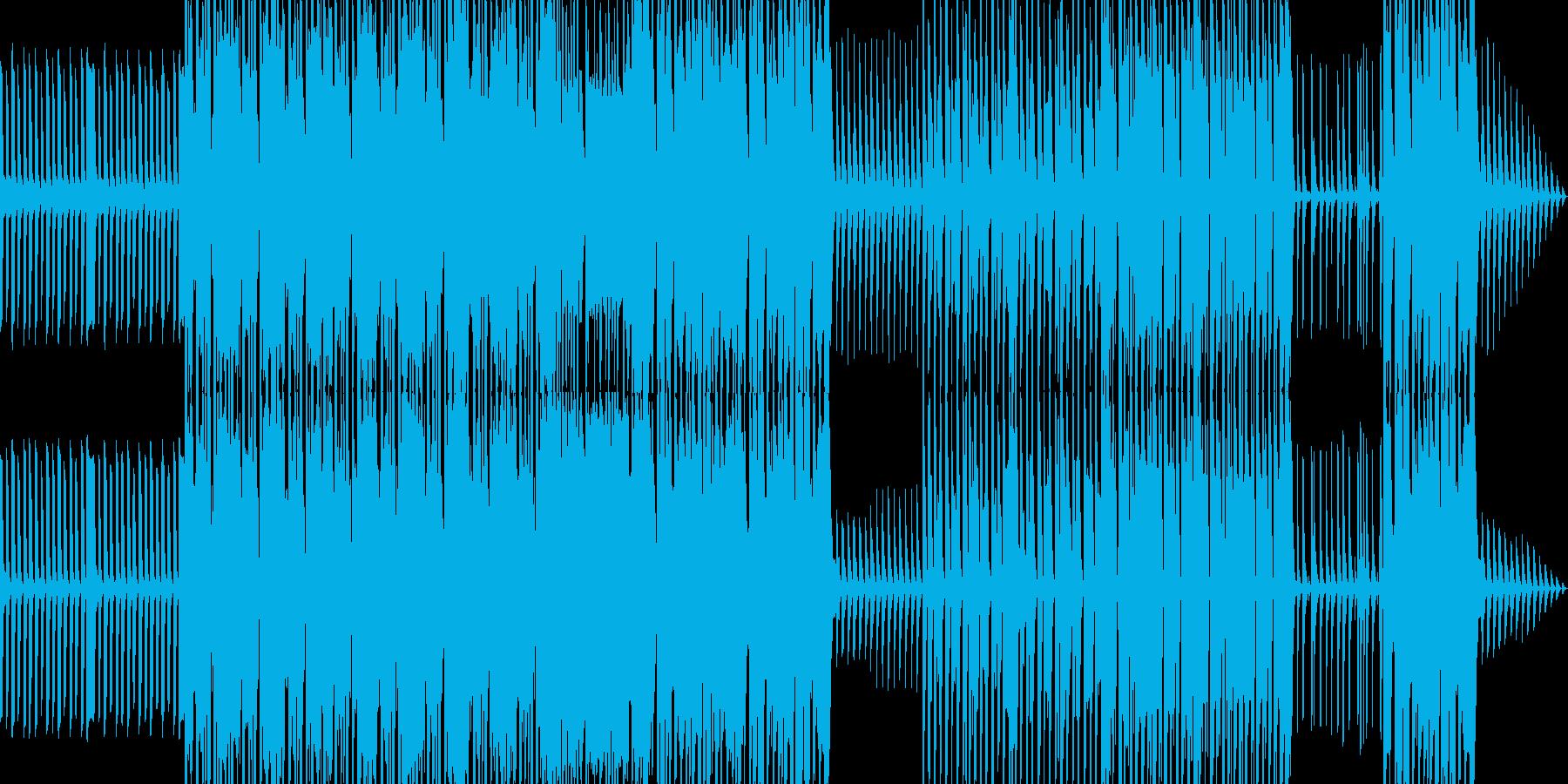 コミカルで陽気なファミリー向けポップスの再生済みの波形