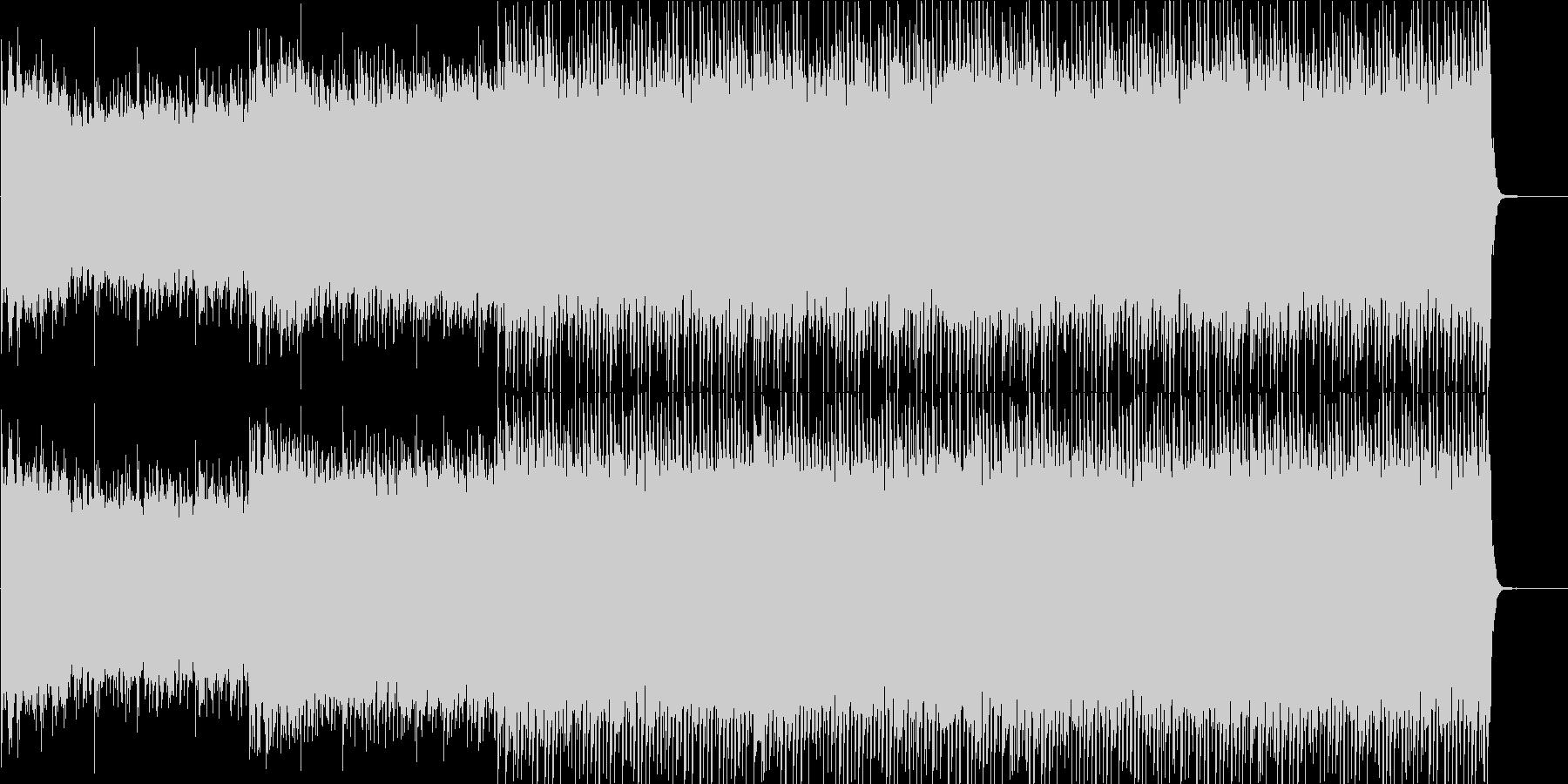 ゆっくりとした素朴なロックの未再生の波形