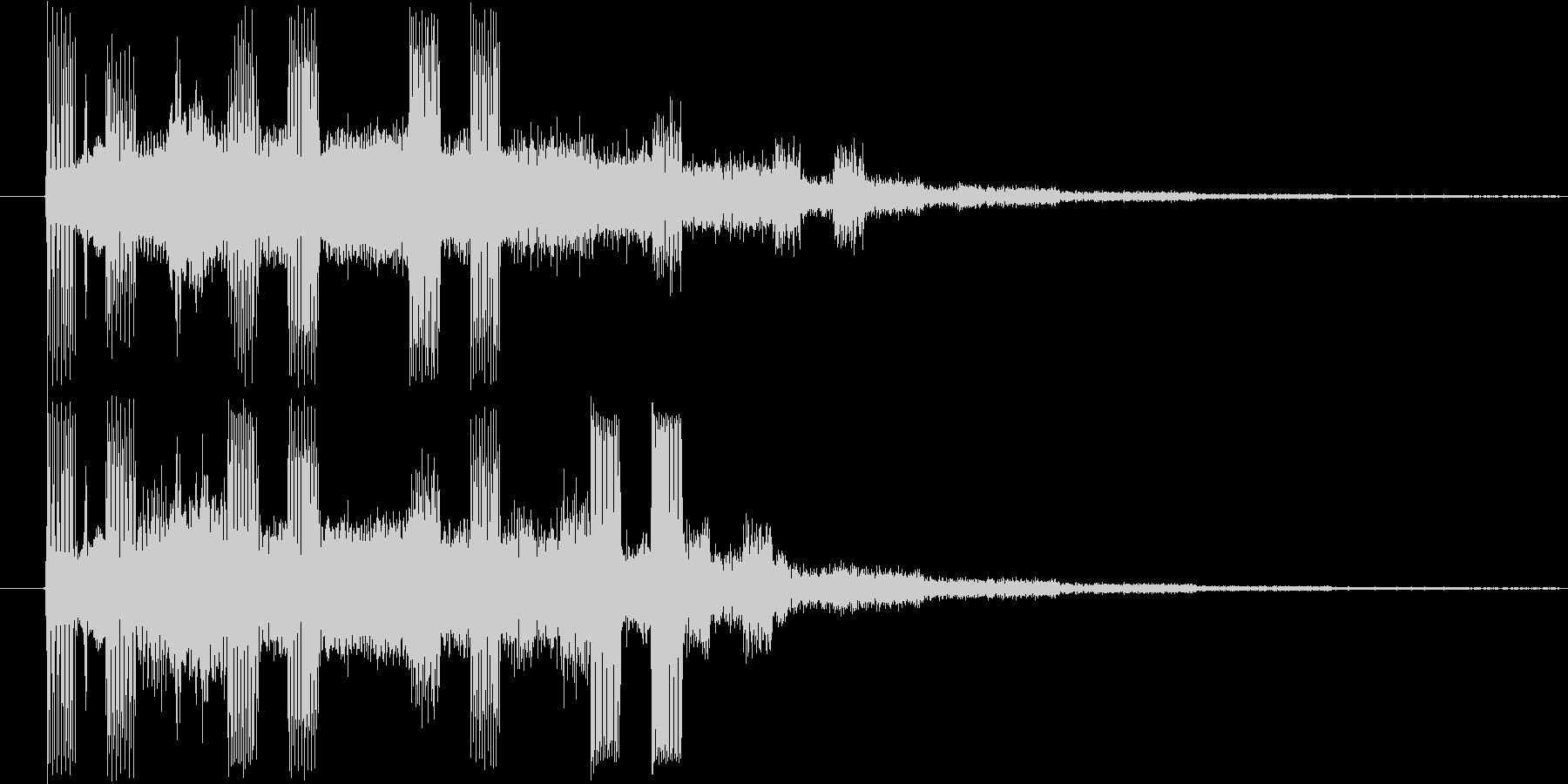 ドミソド(-1):終了やレベルアップにの未再生の波形